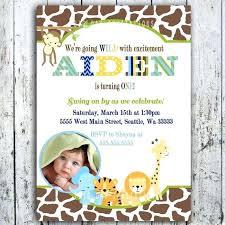 Safari Party Invitations Safari Birthday Invitations D Me Specil Tret Mtted T African