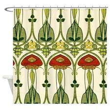 artistic shower curtains. Artistic Shower Curtain Belle Fabric Curtains N