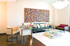 home office artwork. Home Office Artwork Ideas Wall Art Modern With White Desk Bright Colors .