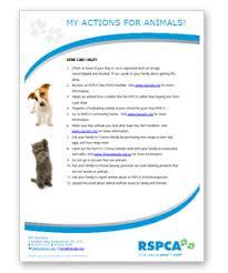 Rspca Victoria Primary Resources