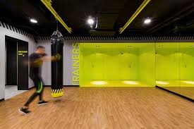 gym lighting design. soesthetic group creates highimpact gym in kiev lighting design
