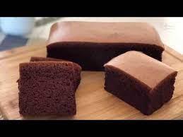 Sebenernya ini sejenis bolu kukus biasa, mungkin. Chocolate Cotton Sponge Cake 巧克力棉花蛋糕 Youtube