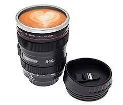 Buy VOTEX MART Camera Lens Shaped <b>Coffee Mug</b> with Lid, <b>350</b> ...