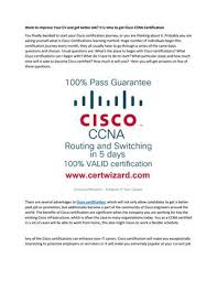 Ccna Cv Want To Improve Your Cv And Get Better Job It Is Time To Get