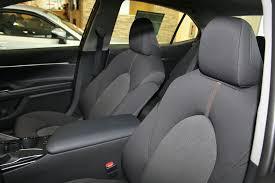 black midnight black metallic 2018 toyota camry left side rear seat photo in calgary