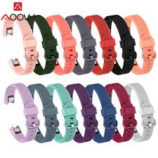 14 Colors Silicone Watchband <b>for Fitbit Alta/ Alta HR / ACE</b> Smart ...