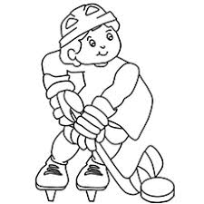 Small Picture Top 10 Free Printable Hockey Coloring Pages Online
