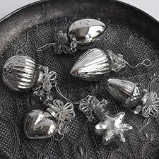 Exner Anhänger Antik 6 Er Set Bauernsilber Silber Vintage