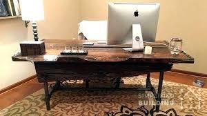 home office desk plans. Exellent Desk Office Desk Plans Rustic Desks To Build Your Own  Simplified Building Diy Home Throughout Home Office Desk Plans