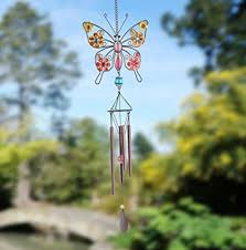 We found this beautiful butterfly wind chime on Amazon (affiliate)