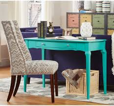 office writing table. Turquoise Writing Desk Table Small Wood Accent Drawer Office Computer Console. Description: