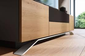 Furniture Accessories:Long Modern Wood Media Console Table Long Modern Wood Media  Console Table