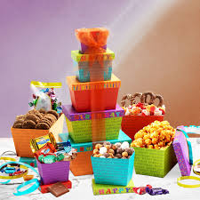 birthday gift basket delivery birthday gift tower