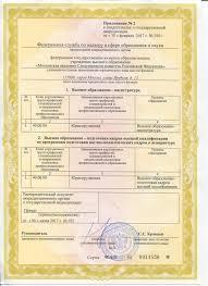 Документы Московская академия СК России Приложение №2 к свидетельству о государственной аккредитации образовательной деятельности