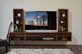 Tv Entertainment Stand Wall Mounted Floating Tv Entertainment Stand Eco Geo Mocha