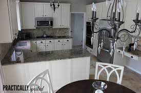 Contemporary Painting Oak Kitchen Cabinets White From Hate To Great A And Inspiration Decorating