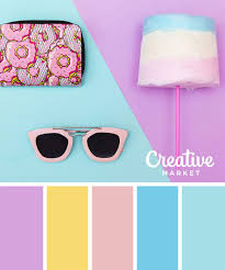 夏デザイン配色の参考にすぐに使えるパステル系カラーパレット15選
