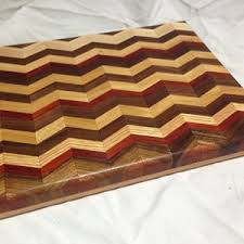 Cutting Board Patterns New How To Make A Chevron Pattern Wooden Cutting Board Mac Cutting Boards