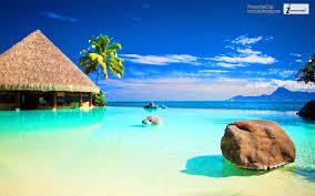 nature ocean tropical desktop wallpaper