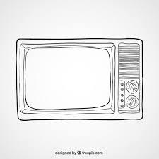 Tv Illustration Vector Free Download
