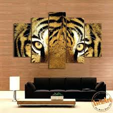 >tiger bedroom ideas auburn bedroom ideas auburn university dorm  tiger bedroom ideas sensational design tiger wall art together with 5 piece canvas set fierce painting