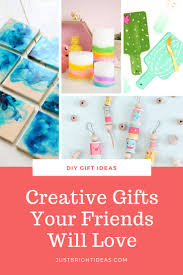 ideas creative homemade gifts for friends