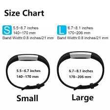 Fitbit Alta Wrist Size Chart 2 Colors Pack Replacement Alta Hr Wristband Straps Smart Watch Band For Fitbit Alta Hr Fitbit Alta Fitbit Ace Intl