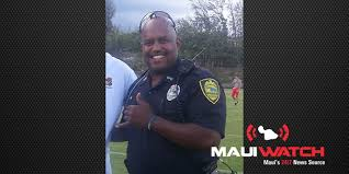 Maui police officer Nelson Johnson reinstated after being fired - MAUIWatch