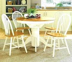 dining tables cream painted dining table and chairs colored room furniture round