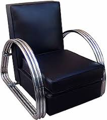 art moderne furniture. There Are Many Fine Original Antiques And Reissues Of Deco Furniture On The Market. With Right Accessories, A Thirties-style Leather Club Chair, Art Moderne G