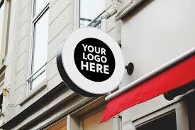 Don't waste an opportunity to have. 8 Free Wall Mounted Backlit Shop Sign Board Psd Mockups Good Mockups