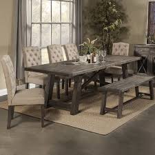 Country Style Extendable Dining Table