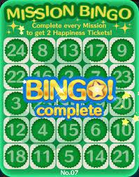 tsum tsum life easy peasy bingo