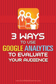 best ideas about google analytics marketing 3 ways to use google analytics to evaluate your audience social media examiner