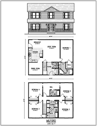amazing design small 2 story house plans floor plan luxury fascinating 90 small 2 story