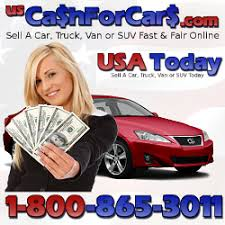Cash For Cars | Sell Car, Truck, Van Or SUV | 1-800-865-3011 ...