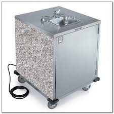portable stainless steel sink cart sinks and faucets home design