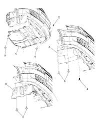 2013 chrysler town country underbody plates shields