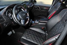 mercedes 6x6 brabus interior. Brilliant Interior Interior Package For The Brabus 6x6 700 To Be Offered On Mercedes