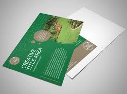 Beautiful Home Landscape Postcard Template | Mycreativeshop