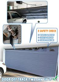 garage door off trackGarage Door Off track  866 2688898  Services in Chicago IL