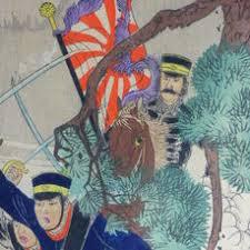 Bildergebnis für japanische holzschnitte von russisch- japanischen krieg