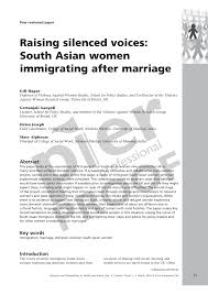 South asian women studies