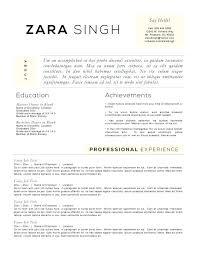 achievements resume achievements resume accounting