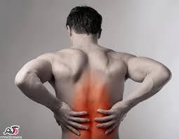 نتیجه تصویری برای درد ناحیه پشت