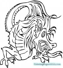 2017 Chinese New Year Coloring Pages Year Dragon Mask