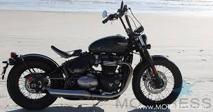 triumph bonneville bobber ride review woman motorcycle