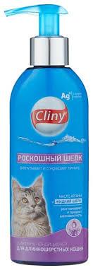 <b>Шампунь</b> -<b>кондиционер Cliny Роскошный шелк</b> для ...