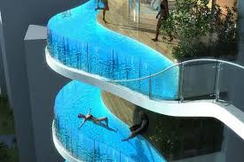 infinity pool singapore dangerous. Has Proposed A 30-story Tower For The Indian City Of Mumbai With Distinct, And Seemingly Dangerous, Marquee Feature: Private Swimming Pools Infinity Pool Singapore Dangerous M