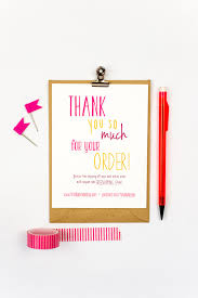 Business Thank You Cards Instant Download Happily Handwritten